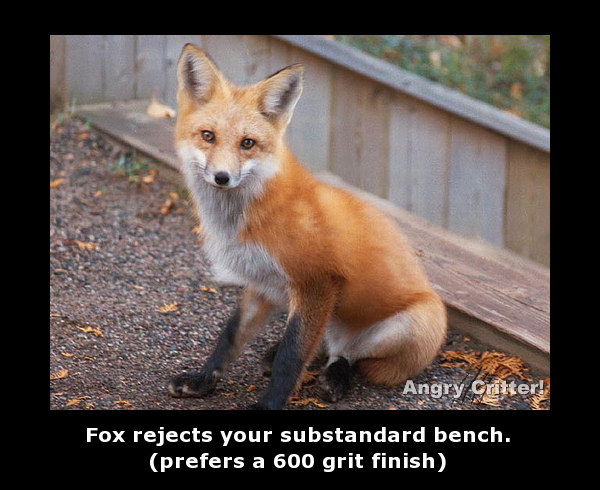 fox bench finish