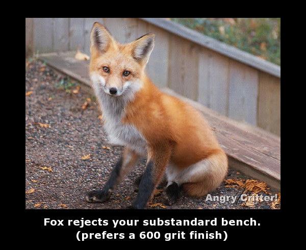 fox bench finish