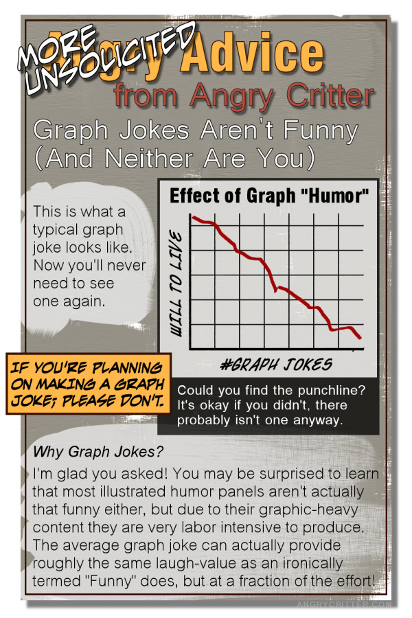 Angry Critter Hates Graph Jokes and You!