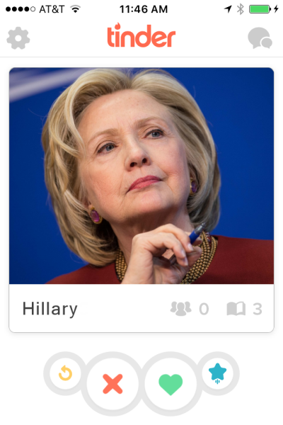 Hillary quotes to use on Tinder