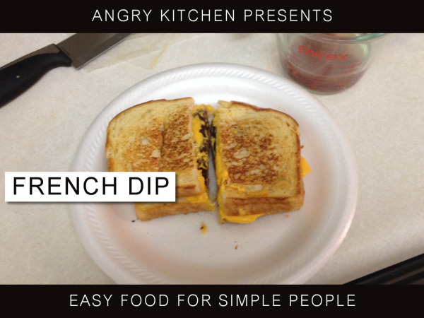 DIY French Dip Food Hack