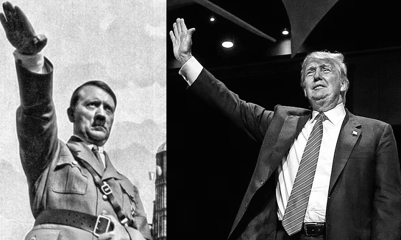 Who said it? Trump or Hitler?